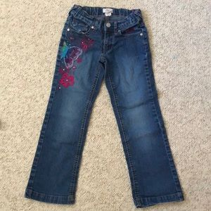 4/$25 Girls Embroidered Jeans 👖. EUC. Size 7